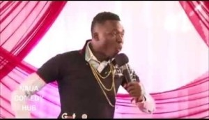 Video: Akpororo Performs at Sterling Bank Concert (Throw Back)